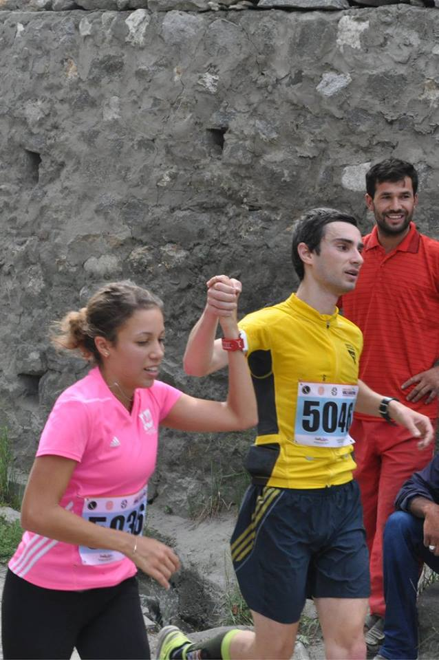 German duo Nadine Gill and Semjon Parker were Gold Medalists in the 42 KM full Marathon!
