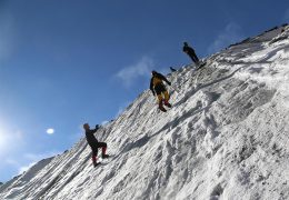 Ice Climbing Competition
